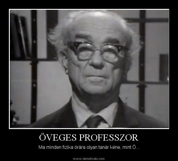 120 éve született Öveges József fizikaprofesszor