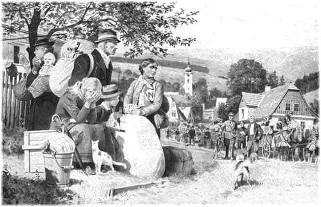 A magyarországi németek kitelepítése 1945 után