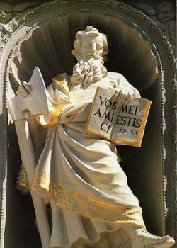 Február 24 - Szent Mátyás apostol