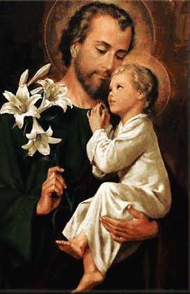 Március 19 - Szent József, a Szent Szűz jegyese