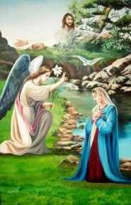 Urunk születésének hírüladása – Gyümölcsoltó Boldogasszony
