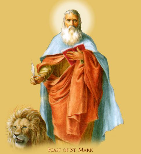 Április 25- Szent Márk evangélista