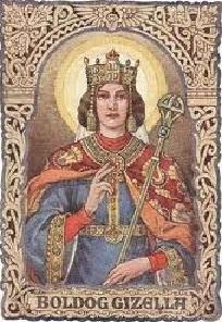 Május 7- Boldog Gizella királyné, Magyarország első királynéja