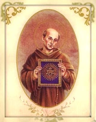 Május 20- Sienai Szent Bernardin hitszónok