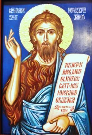 Június 24- Keresztelő Szent János születése