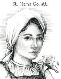 Július 6- Goretti Szent Mária szűz és vértanú
