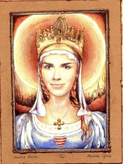 MAGYAR SZENTEK 1. ÁRPÁDHÁZI SZENT KINGA