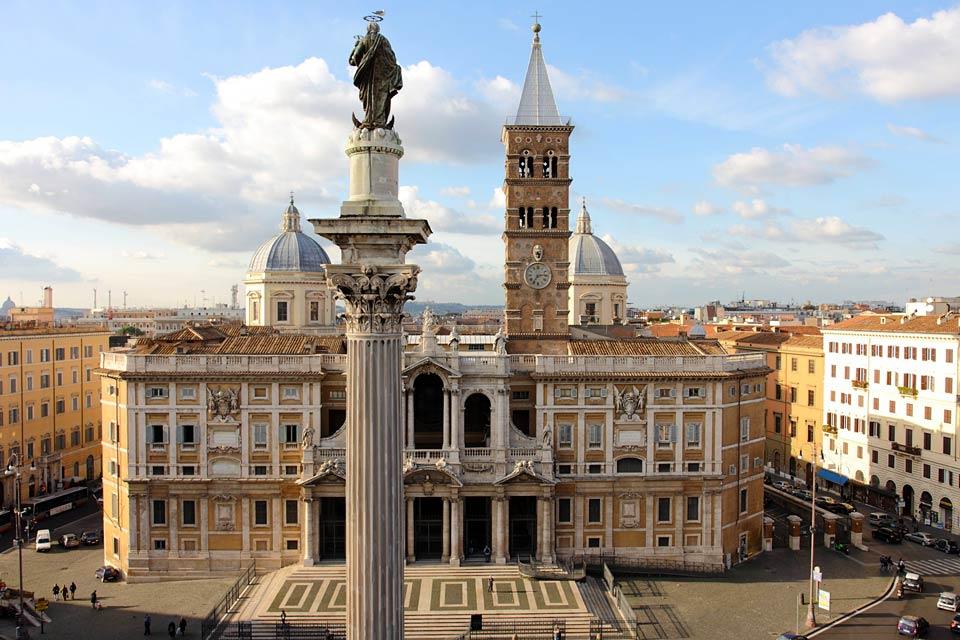 Augusztus 5 - Szűz Mária római főtemplomának felszentelése (Havas Boldogasszony)