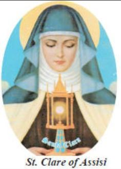 Augusztus 11 - Assisi Szent Klára, rendalapító