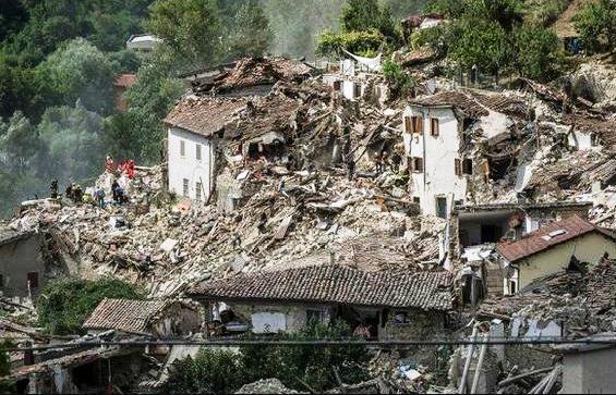 Súlyos földrengés rázta meg Olaszország középső részét