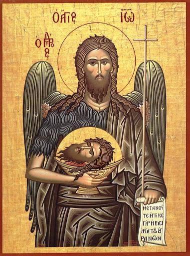 Augusztus 29- Keresztelő Szent János fejvétele