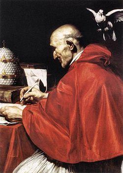 Szeptember 3. - Nagy Szent Gergely pápa, egyháztanító