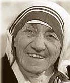 Szeptember 5 - Kalkuttai Szent Teréz anya