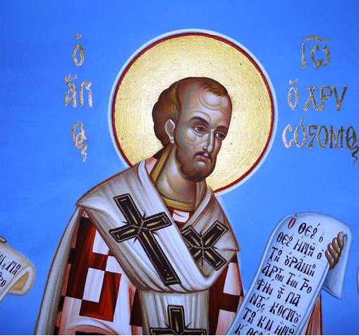 Szeptember 13- Aranyszájú Szent János