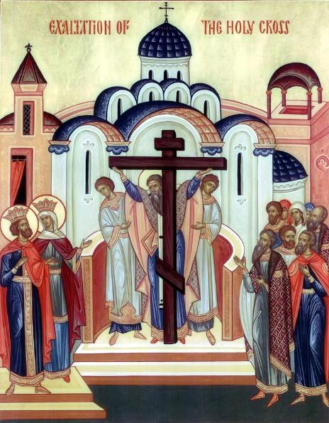 Szeptember 14- A Szent Kereszt felmagasztalása
