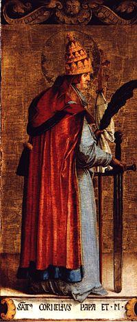 Szeptember 16- Szent Kornél pápa és Szent Ciprián vértanú