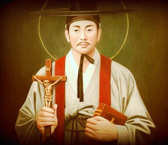 Szeptember 20 - Kim Taegon Szent András, Csong Haszang Szent Pál és társaik, koreai vértanúk