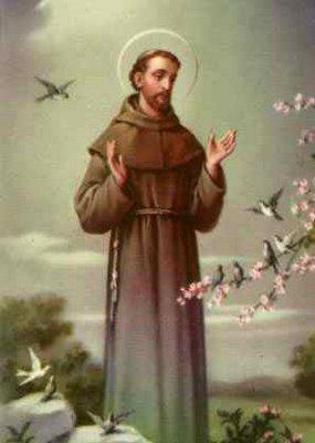 Október 4 - Assisi Szent Ferenc