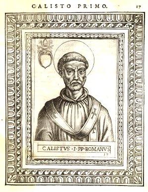 Október 14- Szent I. Kallixtusz pápa