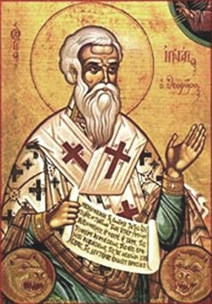 Október 17- Antiochiai Szent Ignác vértanú