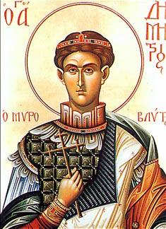 Október 26 - Szent Dömötör, a pásztorok másik védőszentje
