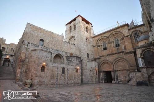 Valószínűleg megtalálták a jeruzsálemi Szent Sír eredeti sziklarétegét