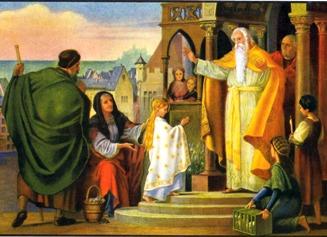 November 21- Szűz Mária bemutatása a templomban