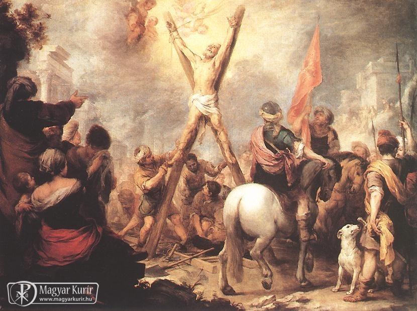 November 30- Szent András apostol