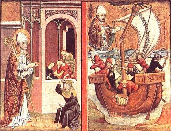 343. december 6. -  Szent Miklós püspök halála