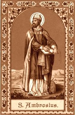 December 7 - Szent Ambrus püspök