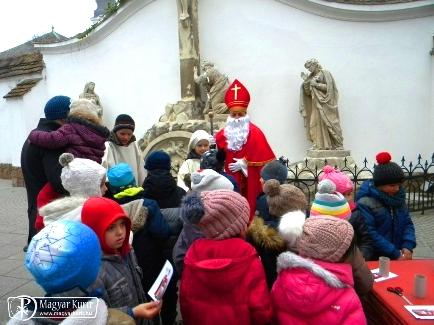 Szent Miklós ünnepe Kecskeméten