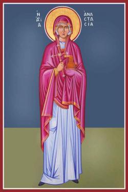 December 25 Szent Anasztázia