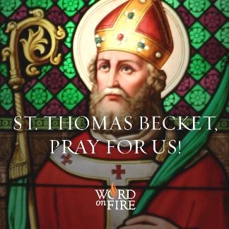 December 29 - Becket Szent Tamás vértanú