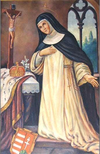Január 18 - Árpád-házi Szent Margit szűz