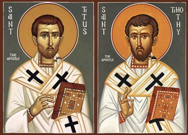 Január 26 - Szent Timóteus és Titusz püspökök