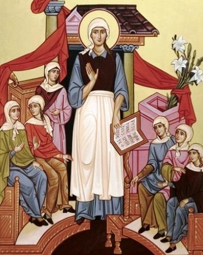 Január 27 - Merici Szent Angéla rendalapító