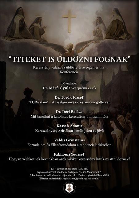 Keresztény válasz az üldöztetésre - Konferencia Budapesten