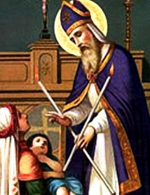 Február 3 - Szent Balázs püspök, vértanú