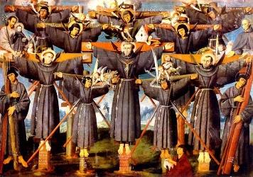 Február 6 - Miki Szent Pál és társai vértanúk