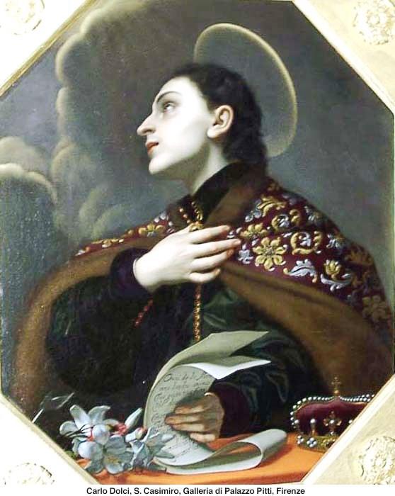 Március 4  - Szent Kázmér királyfi, Boldog Meszlényi Zoltán püspök és vértanú