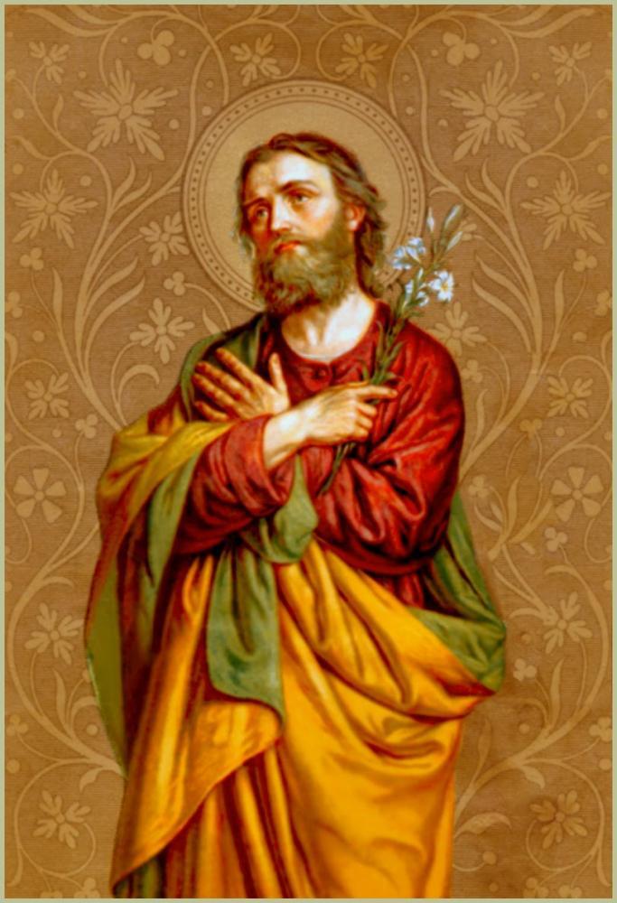Március 20 - Szent József, Szűz Mária jegyese