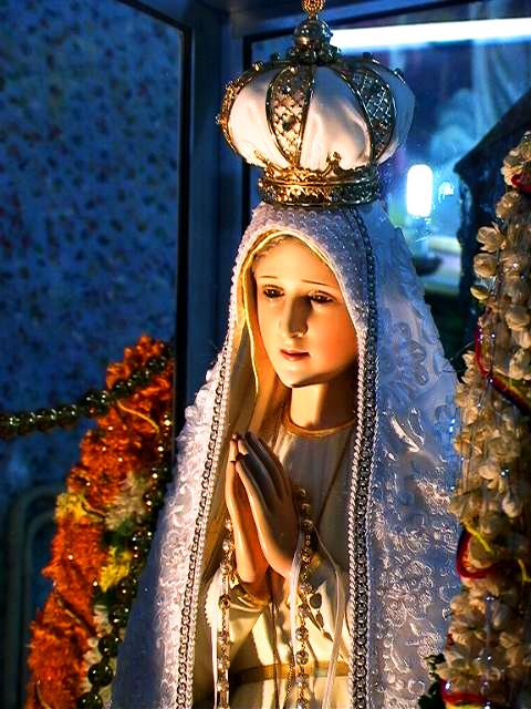 Fatima szobra