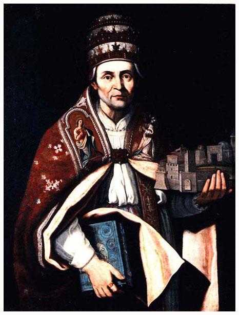 SZENT V. CELESZTIN pápa