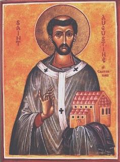 Május 27- Canterbury Szent Ágoston
