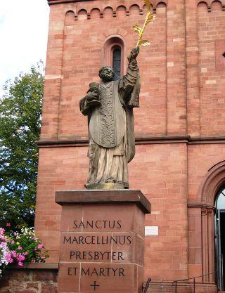 Június 2 - Szent Marcellinusz és Péter vértanúk