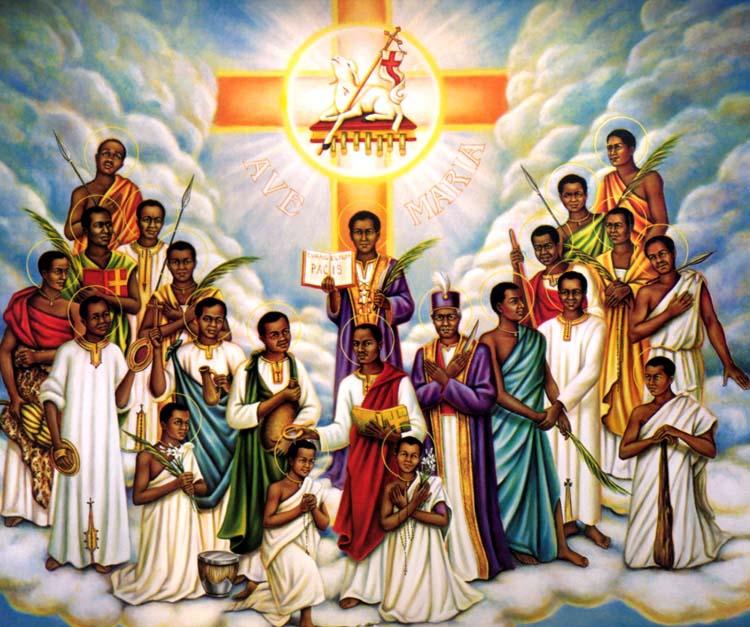 Június 3 - Lwanga Szent Károly és társai ugandai vértanúk