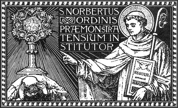 Június 6. - Szent Norbert püspök, a premontrei rend alapítója