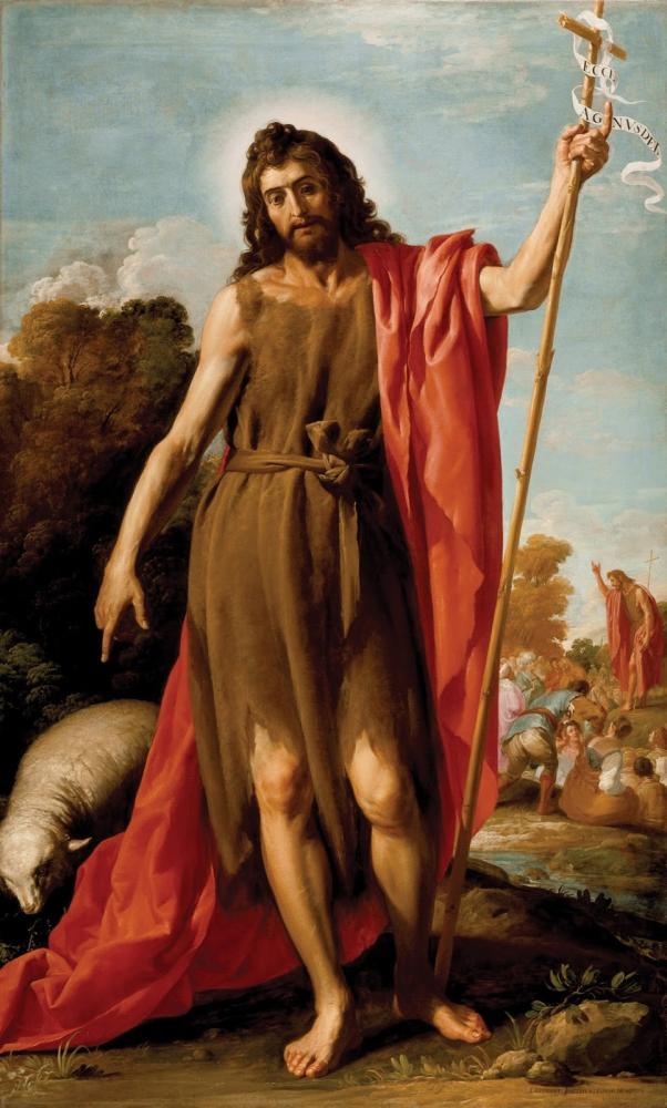 Június 24 - Keresztelő Szent János születése
