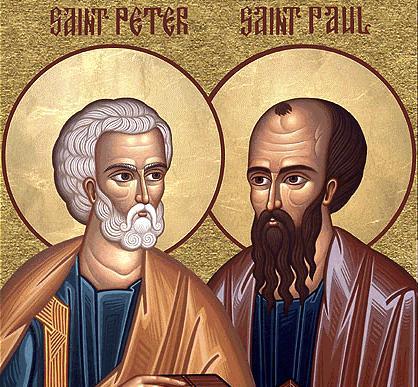 Június 29 - Szent Péter  és Pál apostolok (Főünnep)
