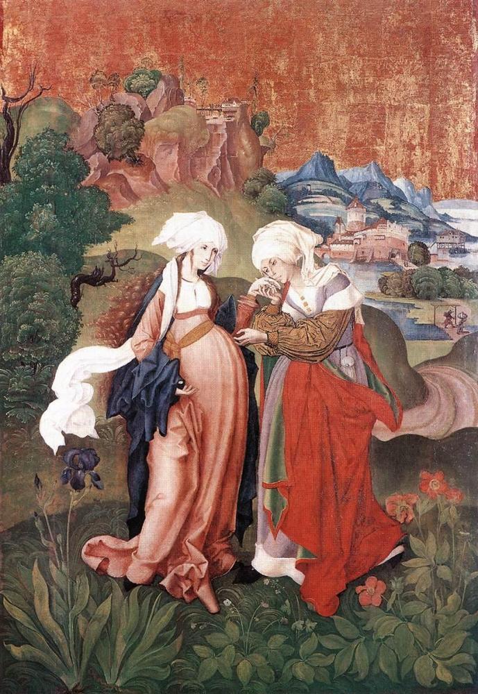 Július 1 - Sarlós Boldogasszony (Mária látogatása Erzsébetnél)